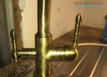 Смеситель на кухню и в ванную — наш выбор Zorg и Haiba. Отзыв спустя 2 года использования.