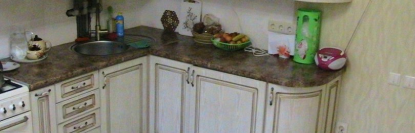 Кухонный гарнитур из МДФ за 110000 рублей. Фото обзор