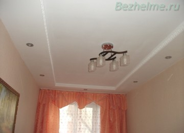 Наш красивый потолок в маленькой комнате