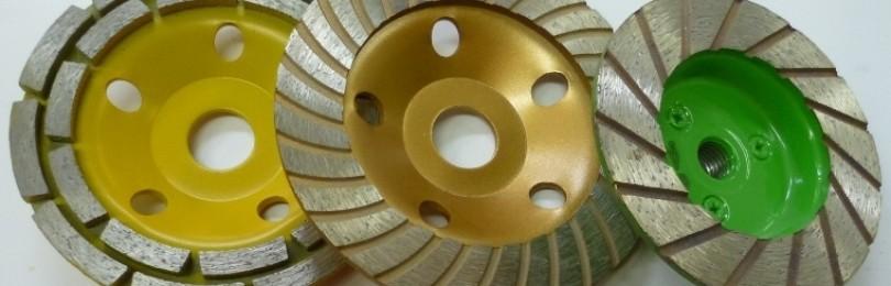 Какие бывают алмазные чашки для шлифовки камня